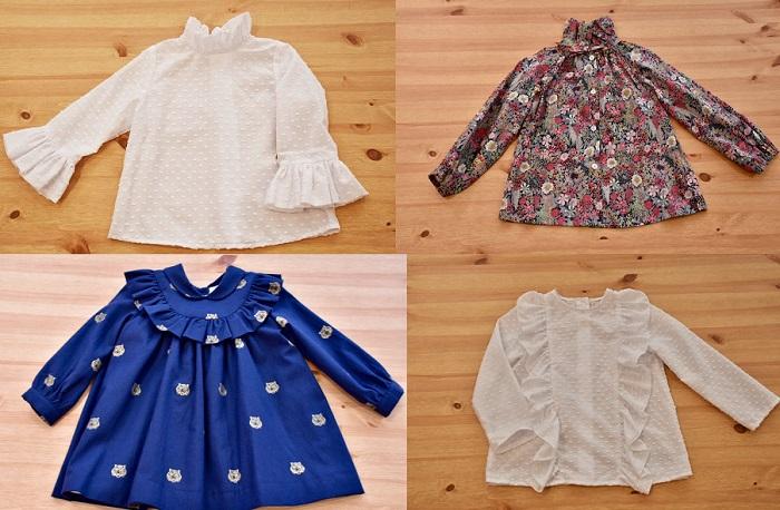 25827dd84 Especial blusas y camisas de niña para vestir