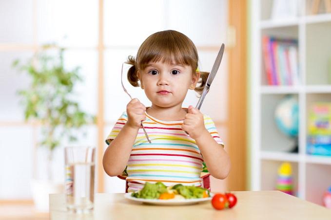 Es buena la alimentación vegetariana para los niños?