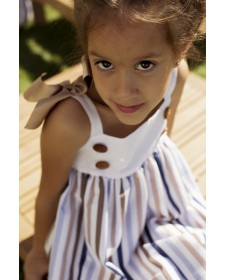 GIRL DRESS SAILOR MON PETIT BOMBON