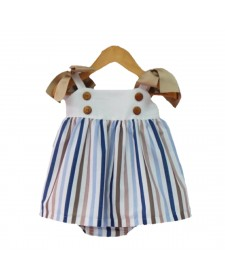 GIRL DRESS AND KNICKERS MON PETIT BOMBON