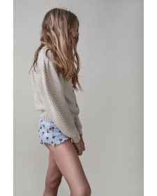 CULOTTE Y TOP DE NIÑA THE NEW SOCIETY MAR