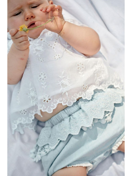 BABY GIRL BLOOMERS CARLOSA LOUISE MISHA