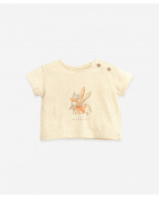 T-shirt with drawing | Botany PALY UP