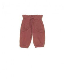 BABY GIRLS PINK CORDUROY TROUSERS