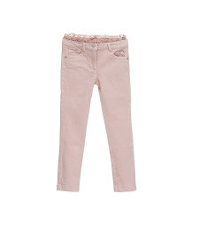 GIRL PINK TROUSERS