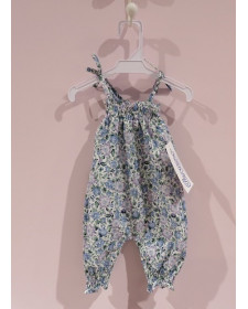 baby girls flowers jumpsuit