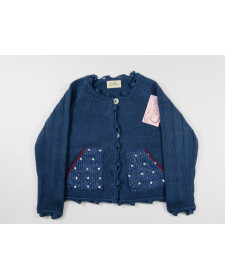 BOYS NAVY BLUE CARDIGAN LOLITTOS