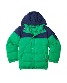 BOYS GREEN COAT