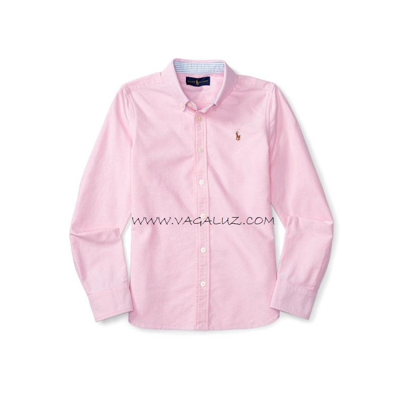 Girls new rose cotton oxford shirt for T shirt printing oxford