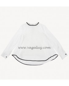 girl white shirt