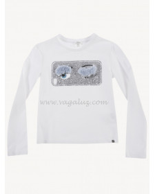 GIRLS T-SHIRT WITH EYE PRINT MISS GRANT