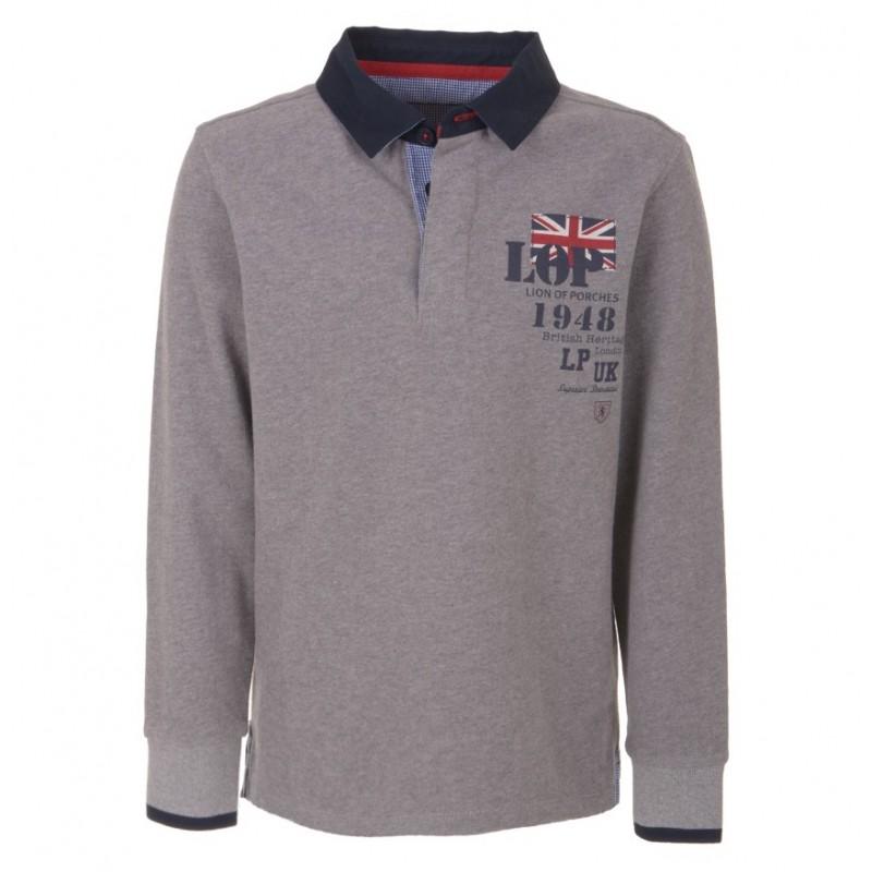 Boys long sleeve polo for Long sleeved polo shirts for boys