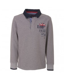 BOYS LONG-SLEEVE POLO
