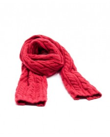 GIRL RED SCARF
