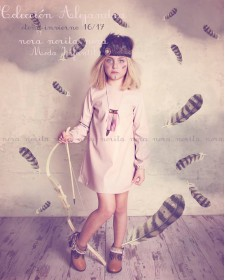 GIRL PINK DRESS NORA NORITA
