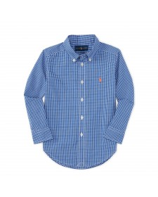 BOY BLUE CHECKED SHIRT RALPH LAUREN
