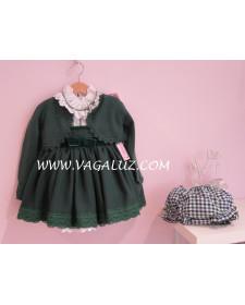 GIRL GREEN BOLERO