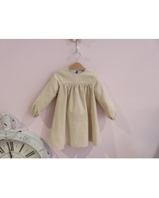 GIRL CAMEL DRESS