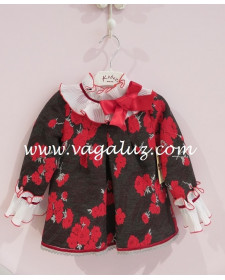 GIRL PRINT FLORAL DRESS