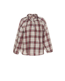 GIRLS BLOUSE VIELLA RED CHECK