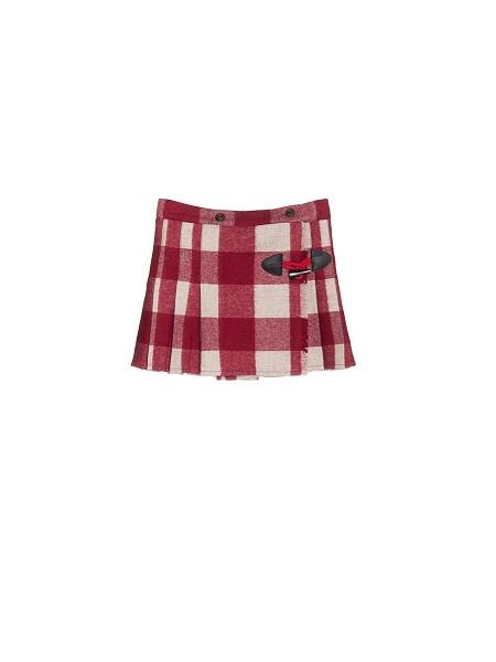 falda franela de niña nanos