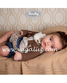 BABY GIRLS BLOUSE AND BLOOMERS MOTITA