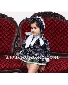 GIRLS DRESS NAVY BLUE