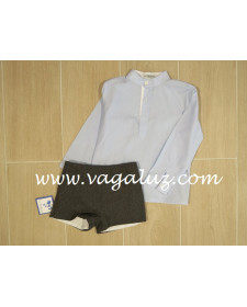 BOYS SHIRT AND SHORTS DAMAS