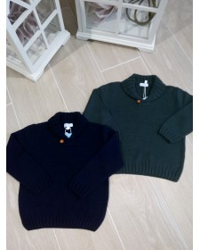 Boy colour Knitted Sweater