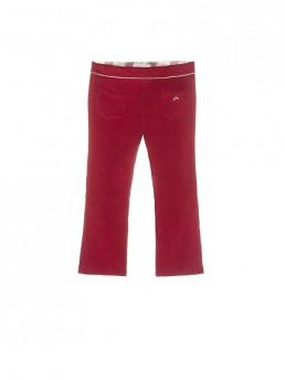 pantalón micropana de niña nanos granate