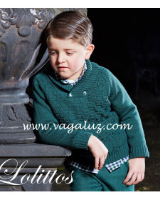 BOY GREEN SWEATER