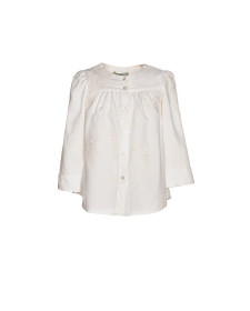 GIRLS BLOUSE WHITE VIELLA