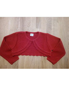 GIRLS RED BOLERO