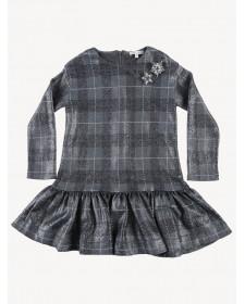 GIRLS DRESS CHECK MISS GRANT