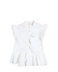 GIRLS SHIRT WITH FLOUNCE DETAIL MISS GRANT