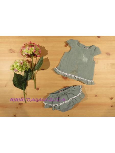 BLOUSE WITH BLOOMER BABY