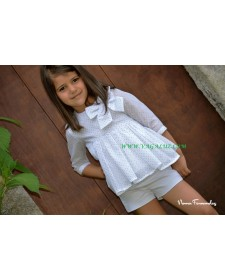 BLOUSE AND SHORT GIRL ORIANA4
