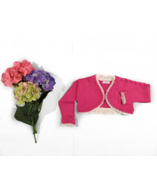 GIRL FUCSIA CARDIGAN