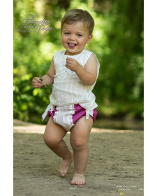 BABY SHIRT AND BLOOMERS TUCANA