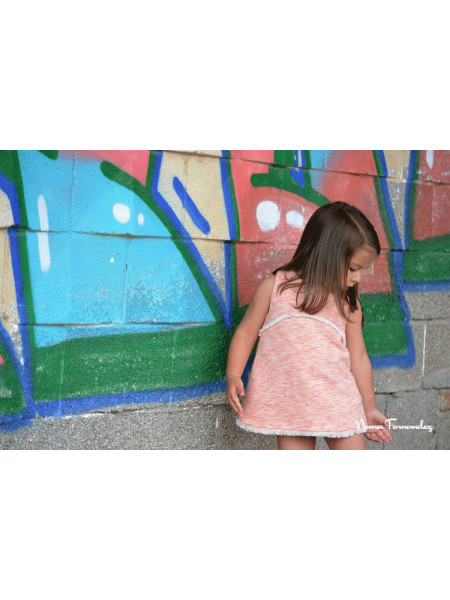 GIRLS DRESS WITH BOTTOMS ANNE