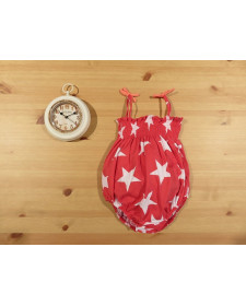 BABY RED STARS SWIM SUIT