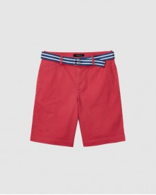 SUFFIELD-BOTTOMS-SHORT RED CORAL