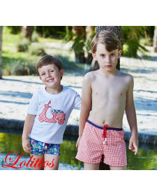 BOYS T-SHIRT AND BOXER ITALIA