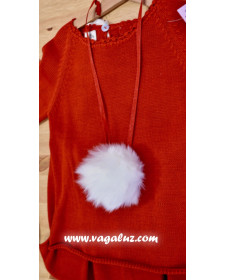 GIRLS NECKLACE THE LITTLE RED RIDING HOOD