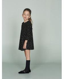 GIRL BLACK DRESS NANOS