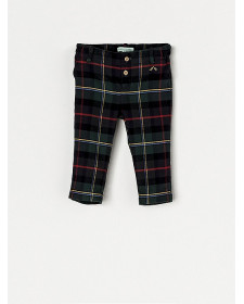 BABY BOYS CHECK TROUSERS