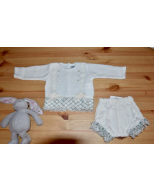 BABY 2 PIECES SET ROCHY BOLILLOS