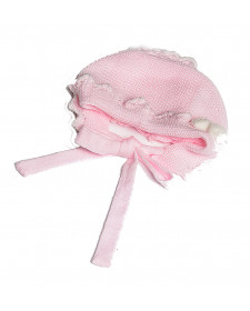 BABY GIRLS PINK BONNET RAHIGO