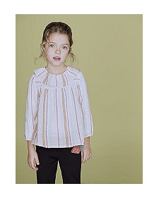 GIRLS STRIPES BLOUSE NANOS