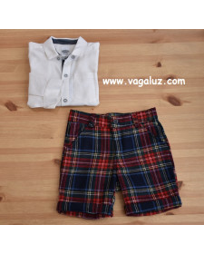 BOYS SHORT AND SHIRT ROCHY